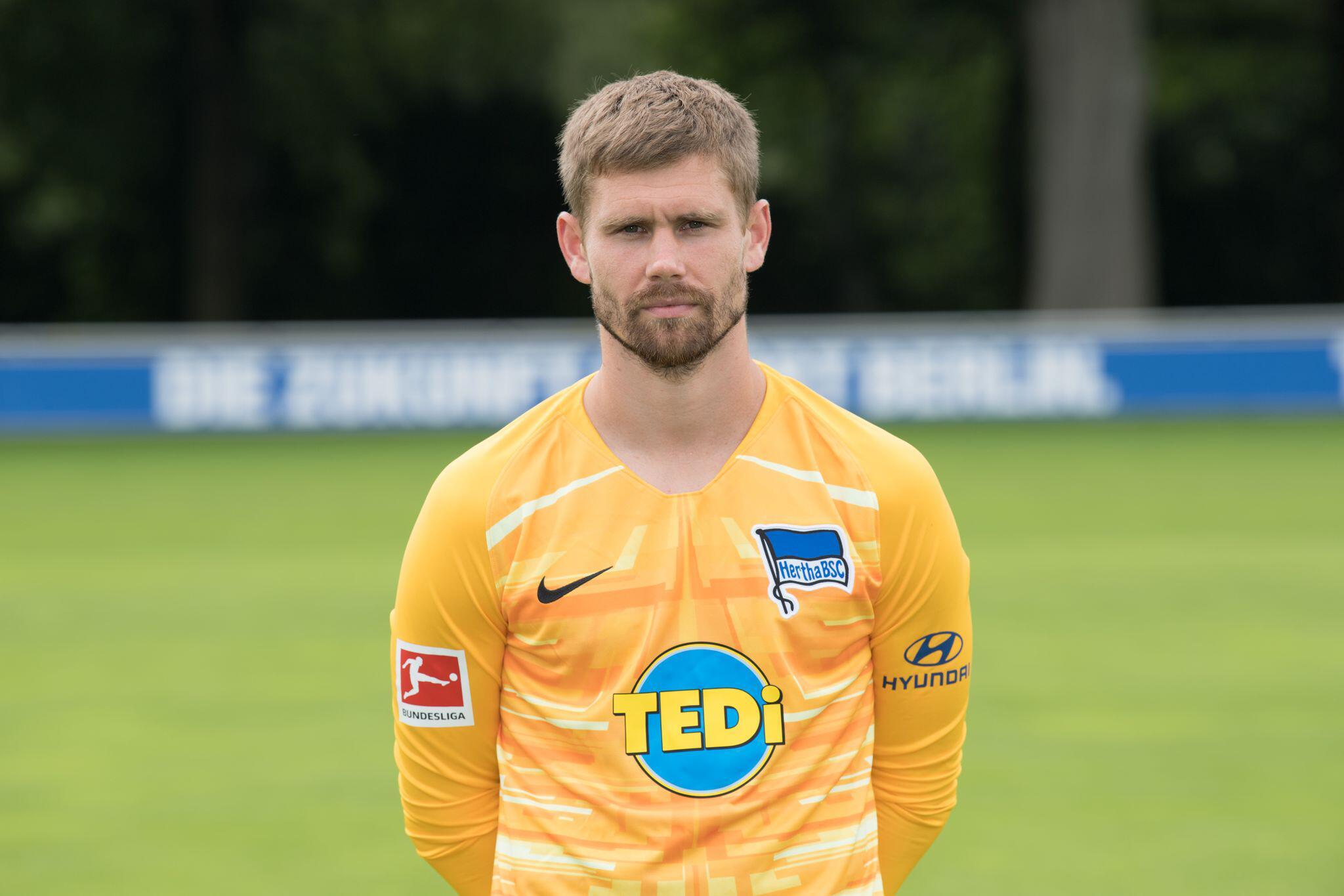 Bild zu Hertha-Torhüter Kraft beendet Fußball-Karriere mit nur 31 Jahren