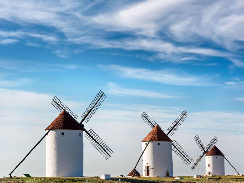 Bild zu Mühlen bei Campo de Cripta