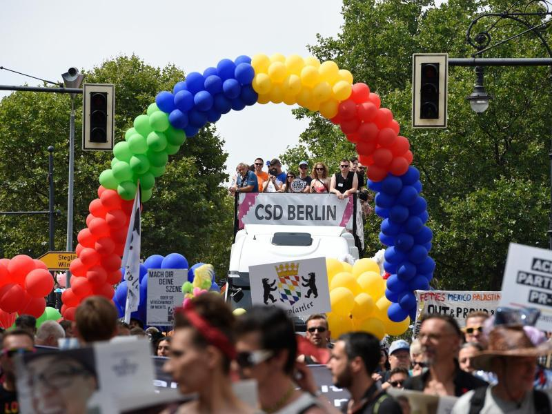 Bild zu 38. Christopher Street Day