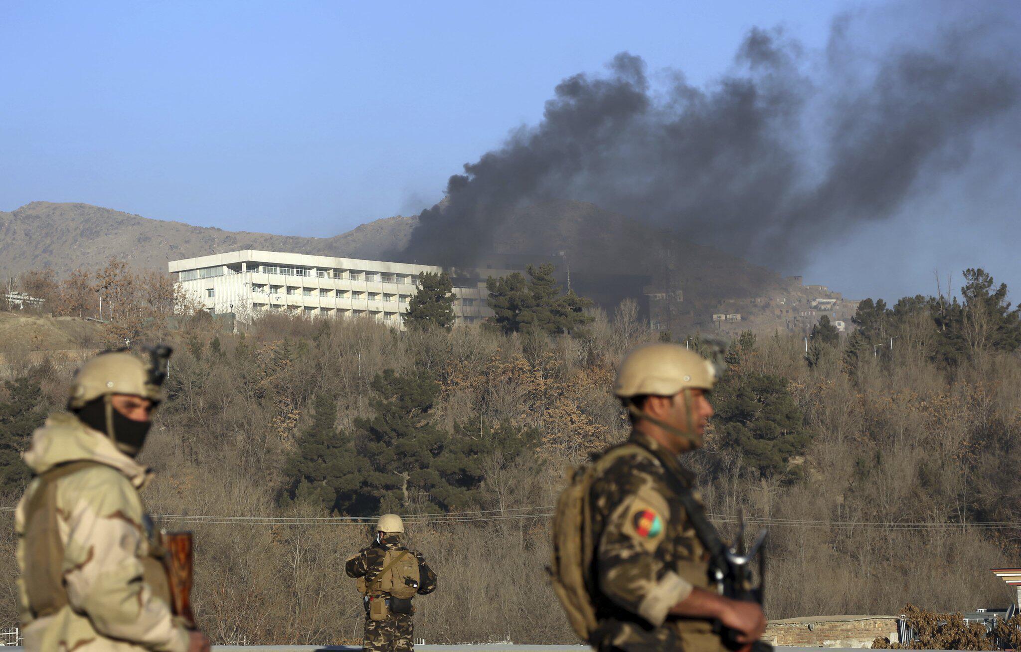 Bild zu Angriff auf Hotel in Kabul