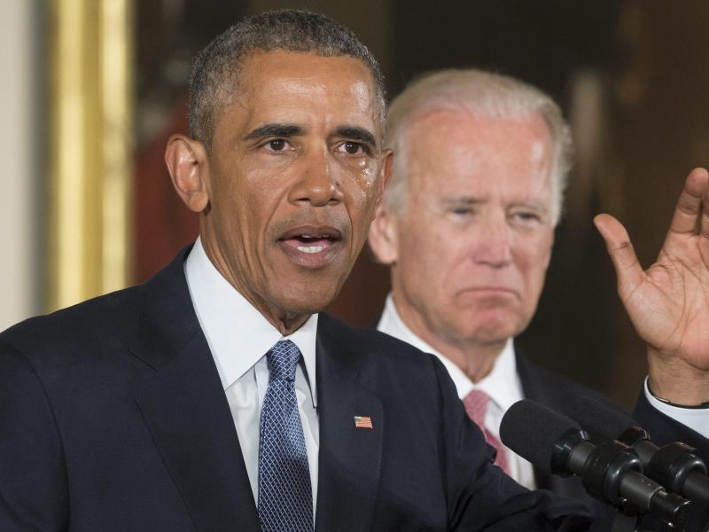 Bild zu Obama und Biden