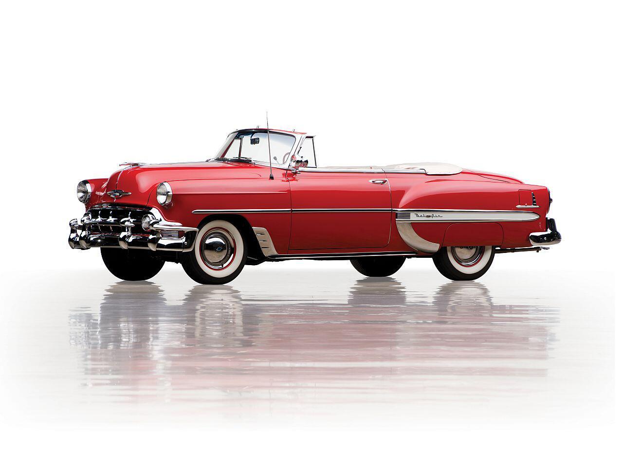 Bild zu Chevrolet Bel Air Convertible von 1953