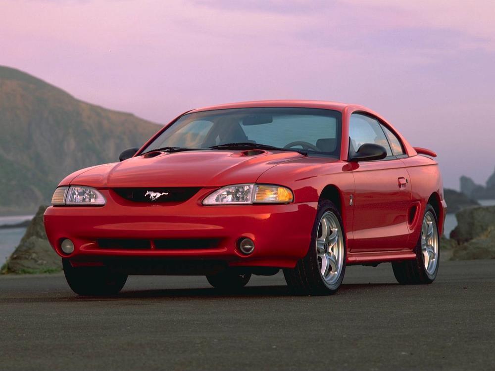 Bild zu Platz 2: Ford Mustang (Serie IV.)