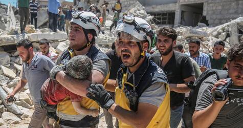 Syriens Rebellengebiet Idlib