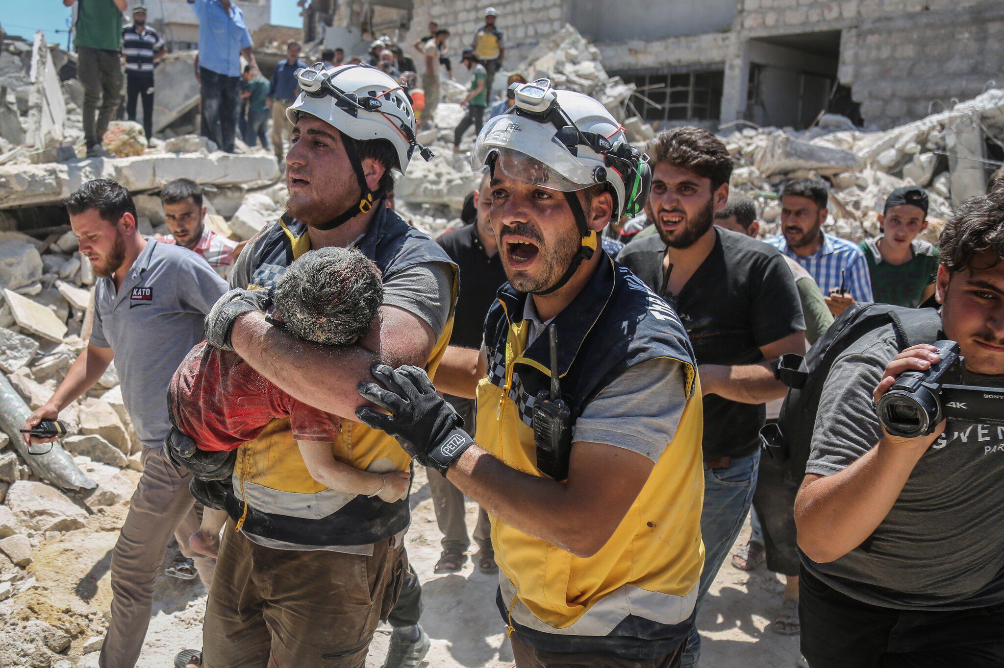 Bild zu Syriens Rebellengebiet Idlib