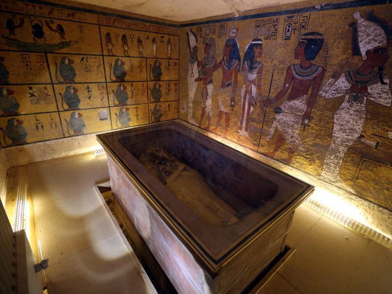 Bild zu Tutanchamun