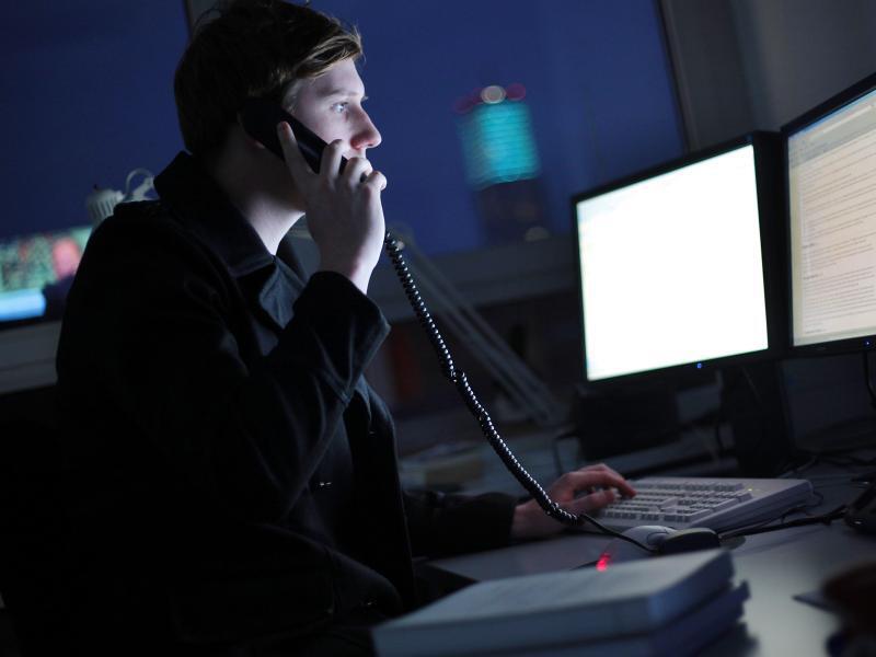 Bild zu Arbeiten in der Nacht