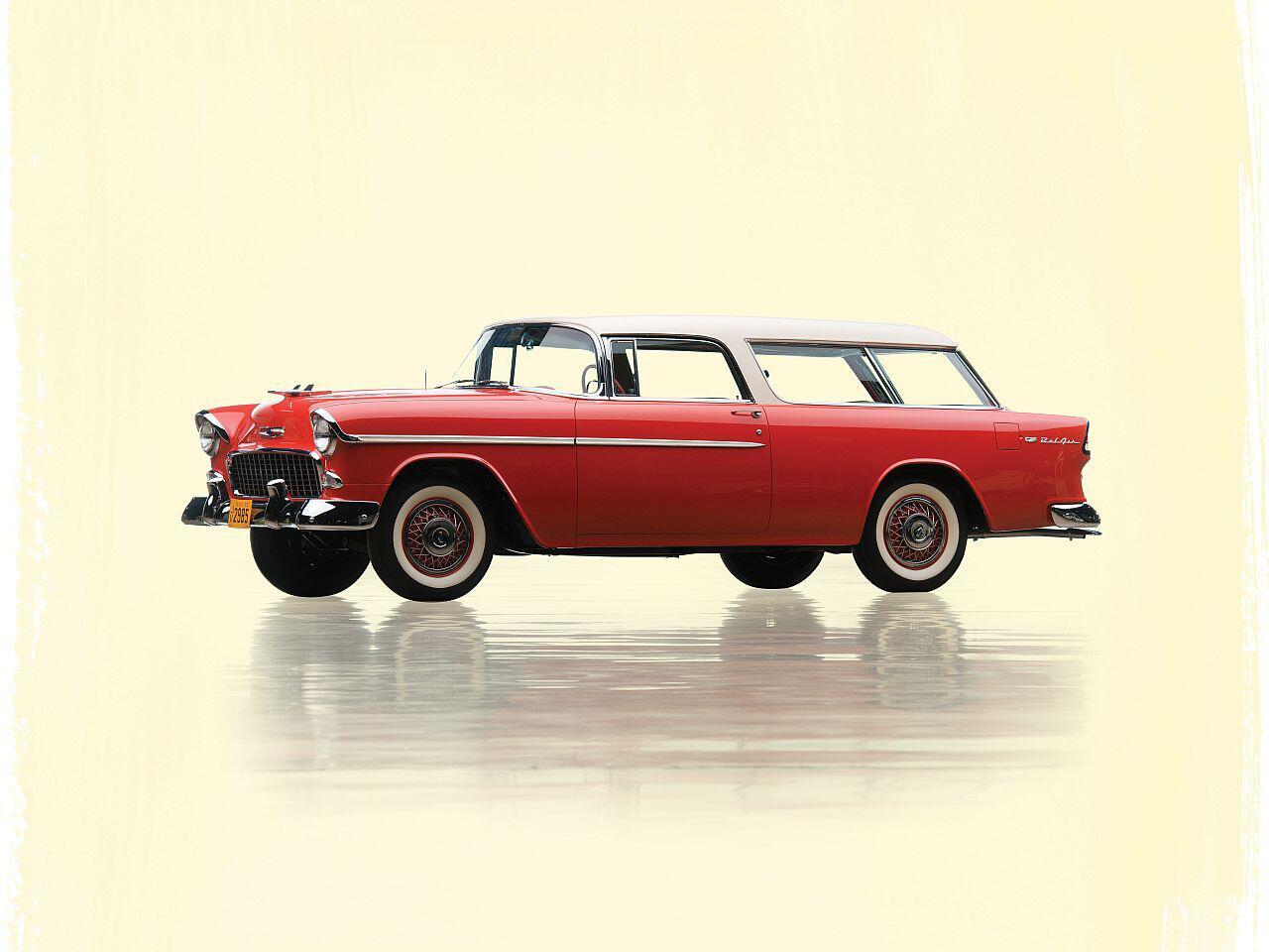 Bild zu Chevrolet Bel Air Nomad von 1955