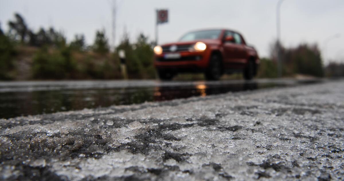 Glatte Straßen Aktuell