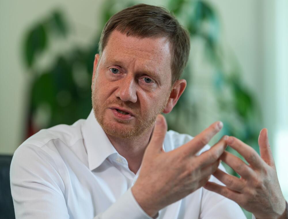 Interview mit Sachsens Ministerpräsident Kretschmer