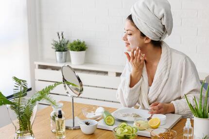Beauty, Maske, DIY, selbst, zuhause, nachhaltig, Pflege, Creme
