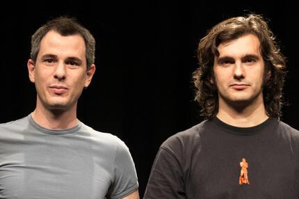 Christoph (li.) und Lollo gehen wieder auf Tour.