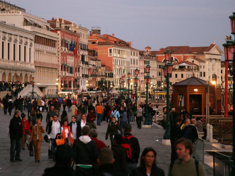Bild zu Venedig in der Abenddämmerung