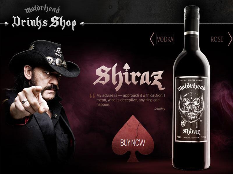 Bild zu Motörhead-Wein