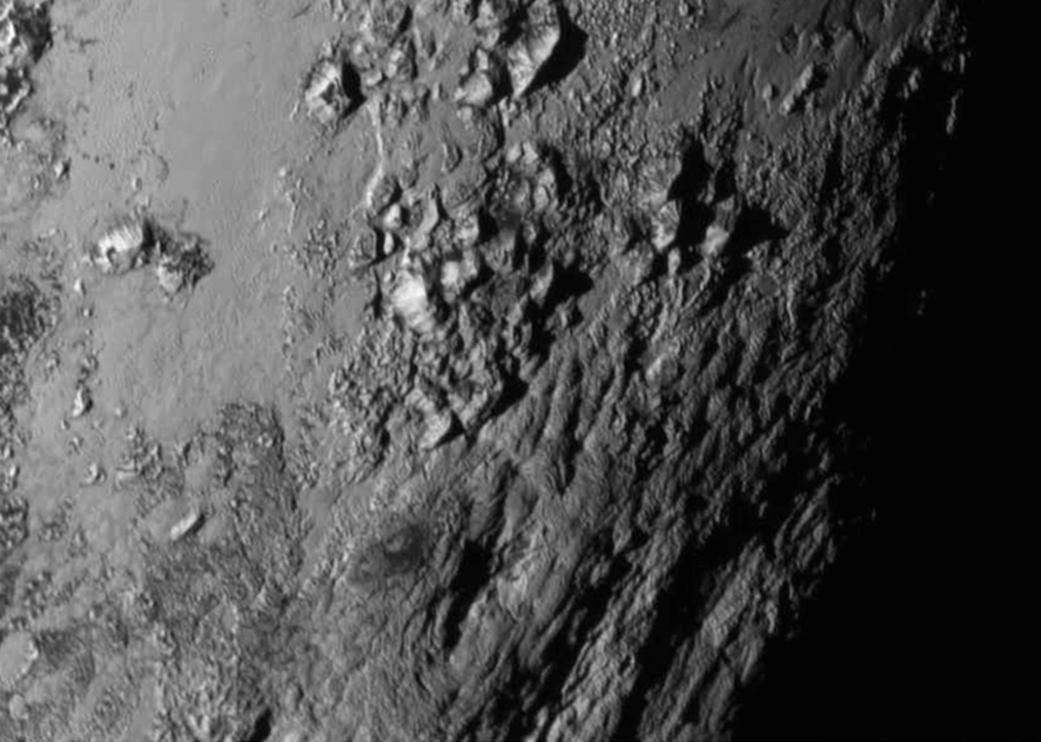Bild zu Pluto, Berge