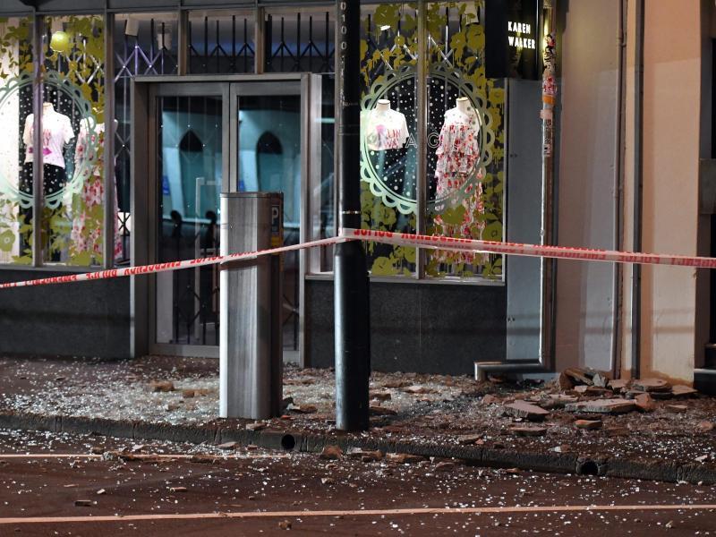Bild zu Erdbebenschäden