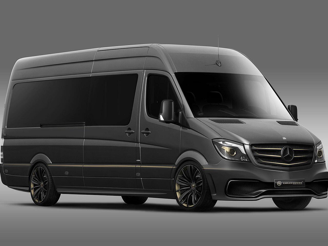 Bild zu Mercedes Sprinter von Carlex Design