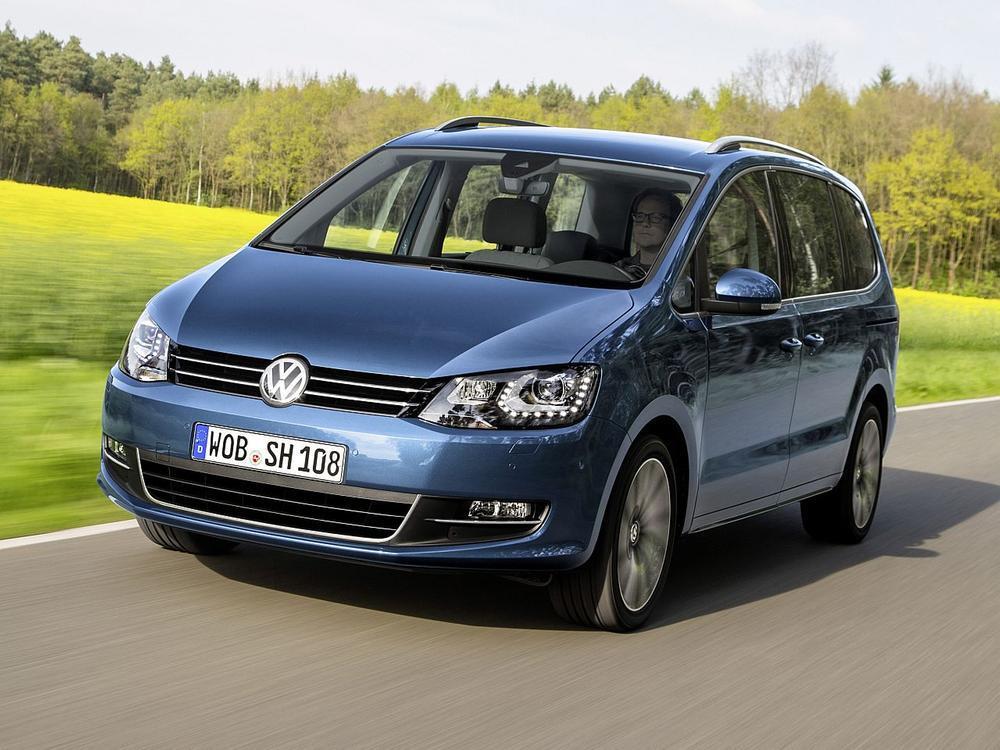 Bild zu Platz 5: VW Sharan