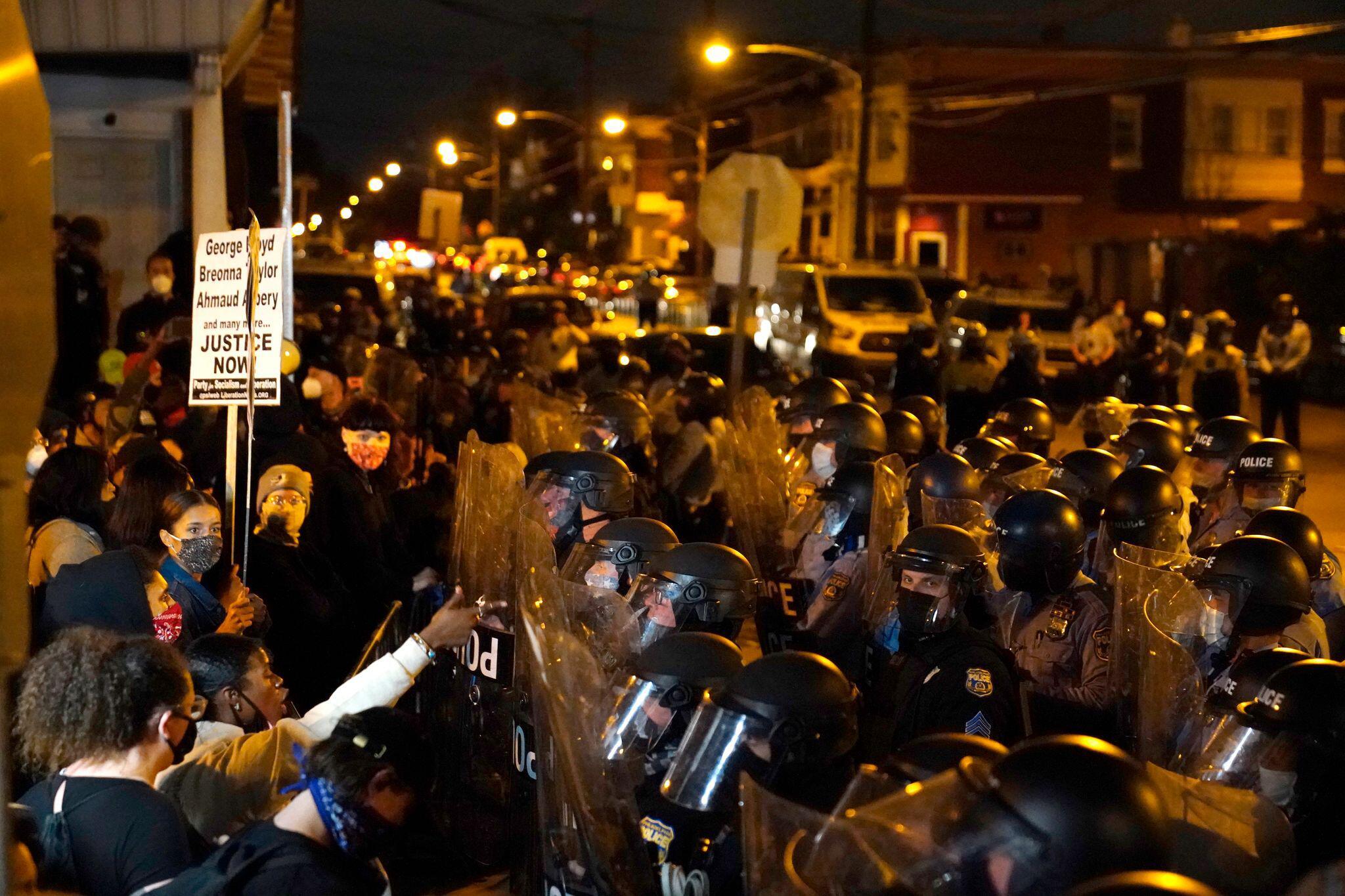 Bild zu Protest gegen Polizeigewalt - Philadelphia
