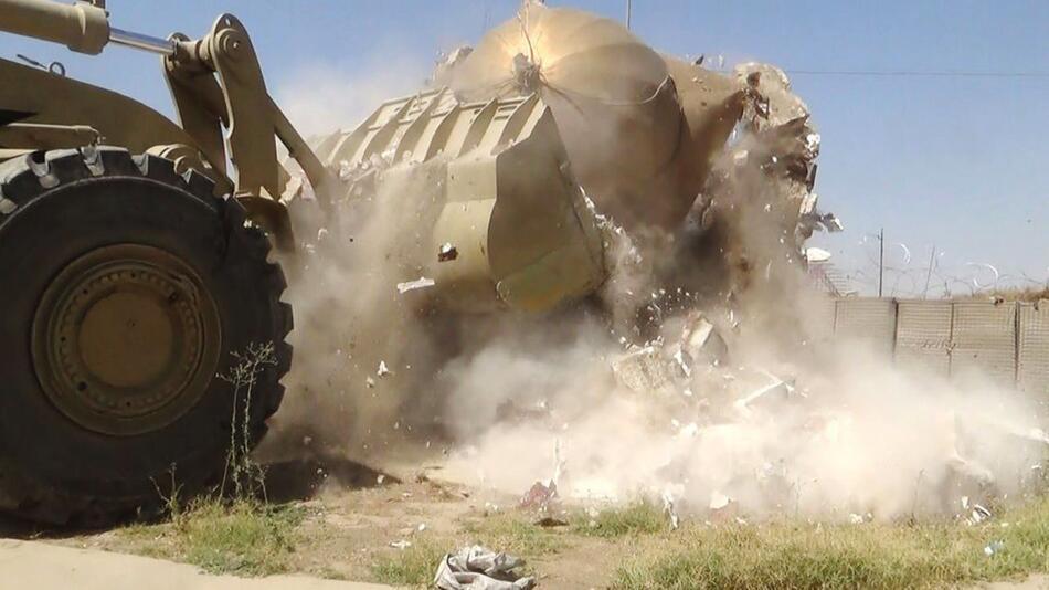 Zerstörung durch den IS