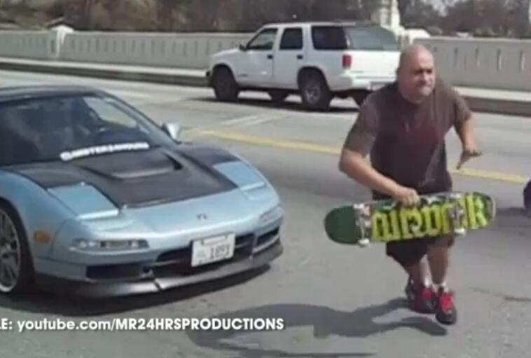 Bild zu Skater vs Autofahrer