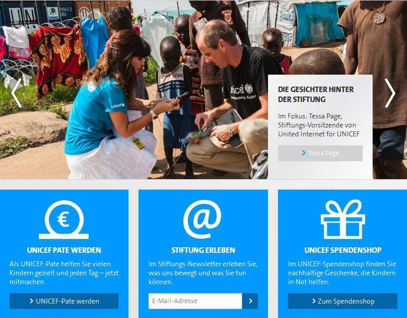 Bild zu United Internet for UNICEF