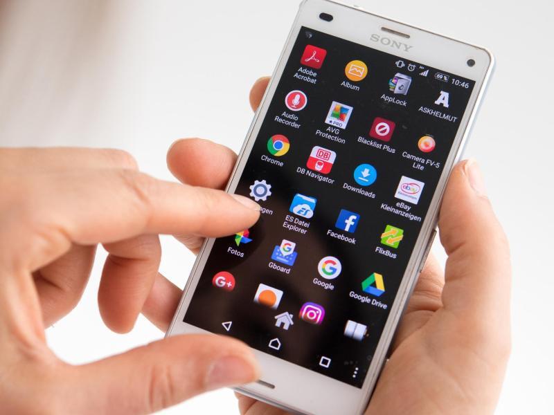 Bild zu App-Übersicht auf einem Smartphone
