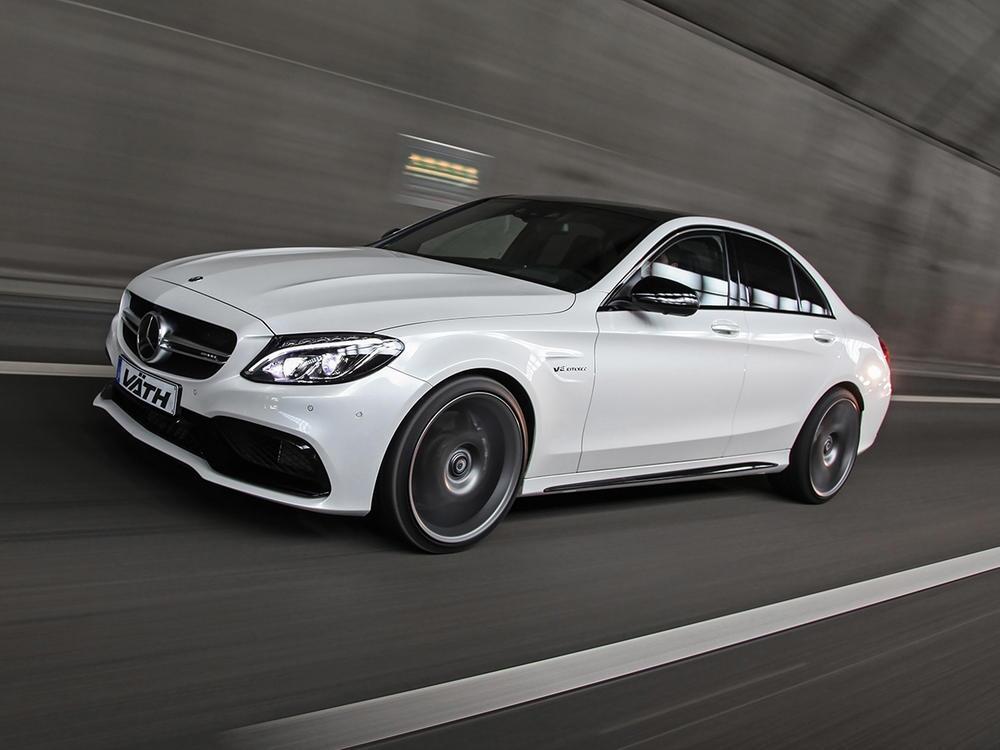Bild zu Mercedes C 63 AMG