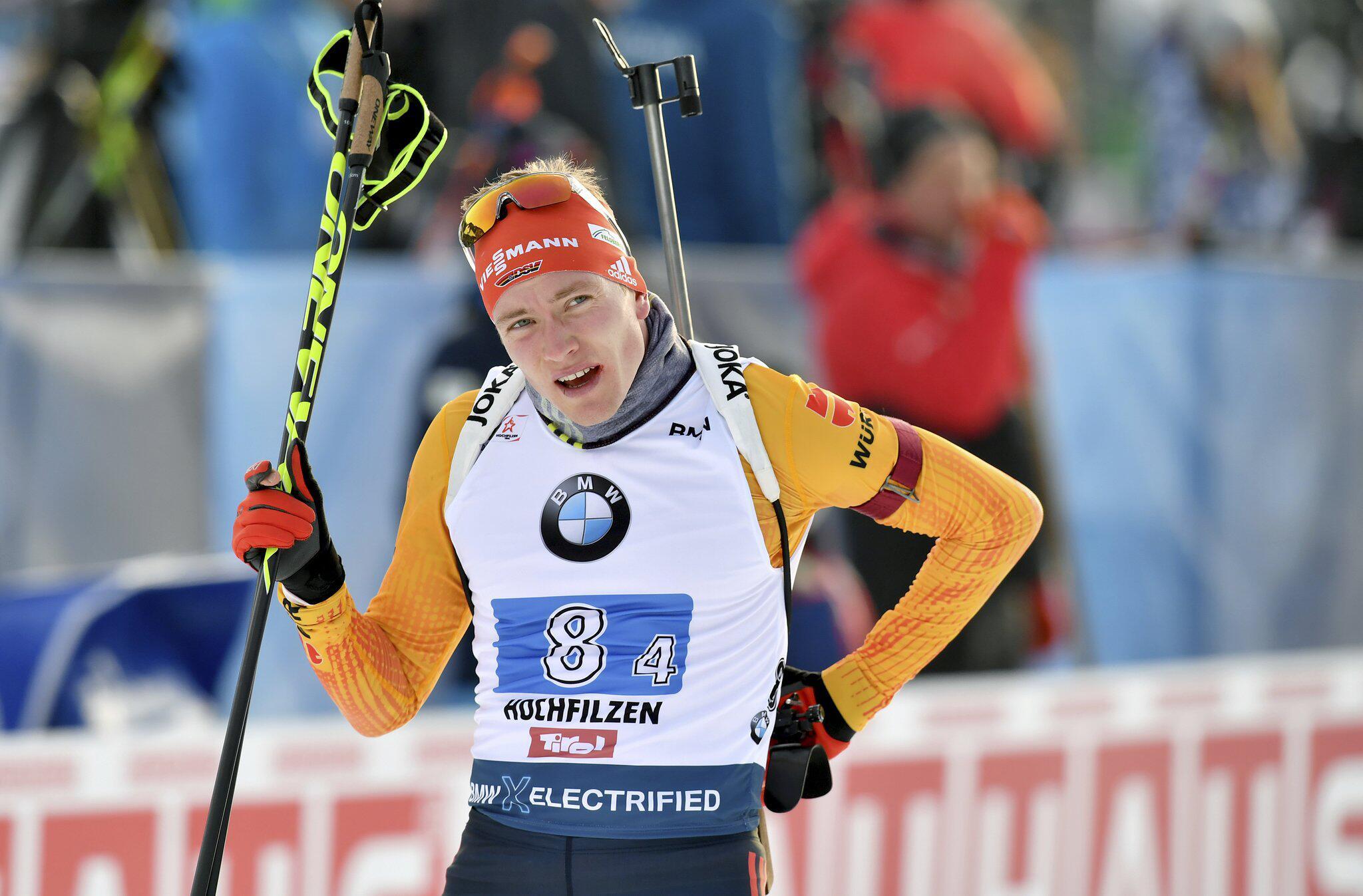 Biathlon-Weltcup: Benedikt Doll sprintet zum ersten deutschen Saisonsieg