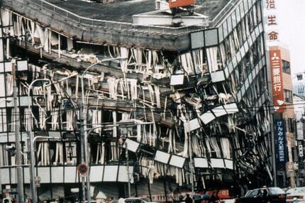 Eingestürztes Bürogebäude