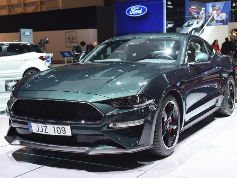 ford bringt mustang bullitt nach deutschland web de. Black Bedroom Furniture Sets. Home Design Ideas