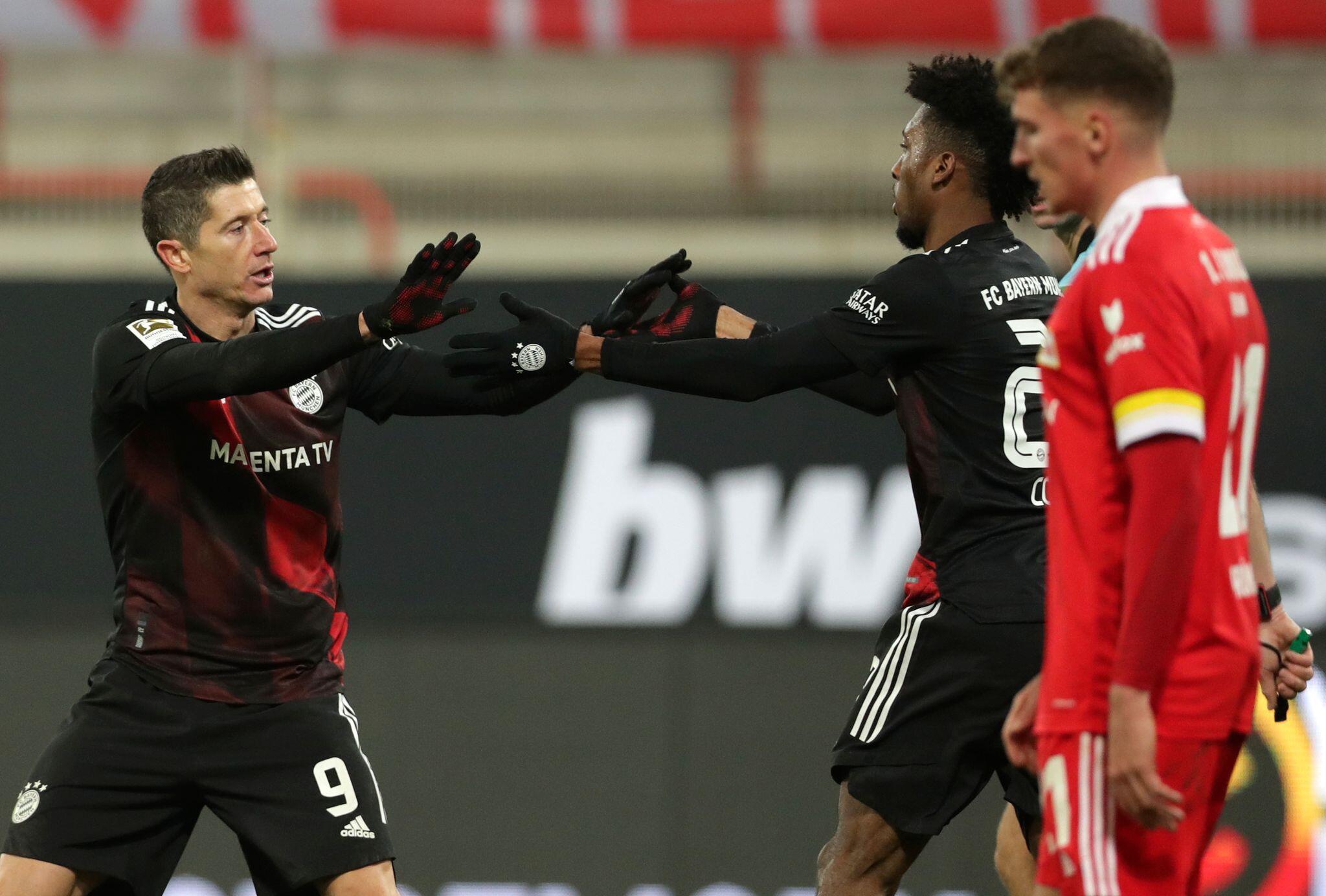 Bild zu 1. FC Union Berlin - FC Bayern München