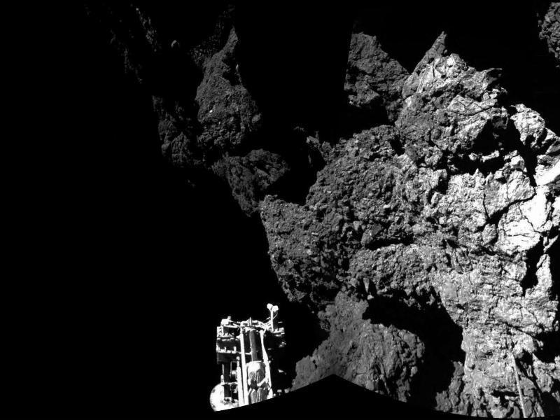 Bild zu «Philae» ist gelandet