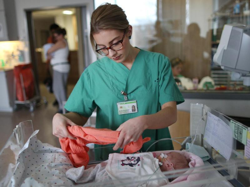 Bild zu Arbeit mit Säuglingen