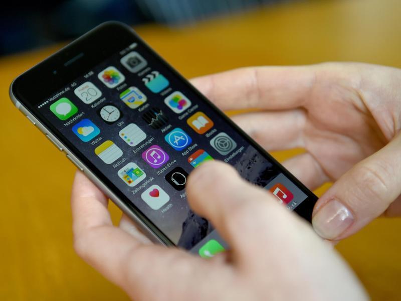 Bild zu Apps auf einem iPhone