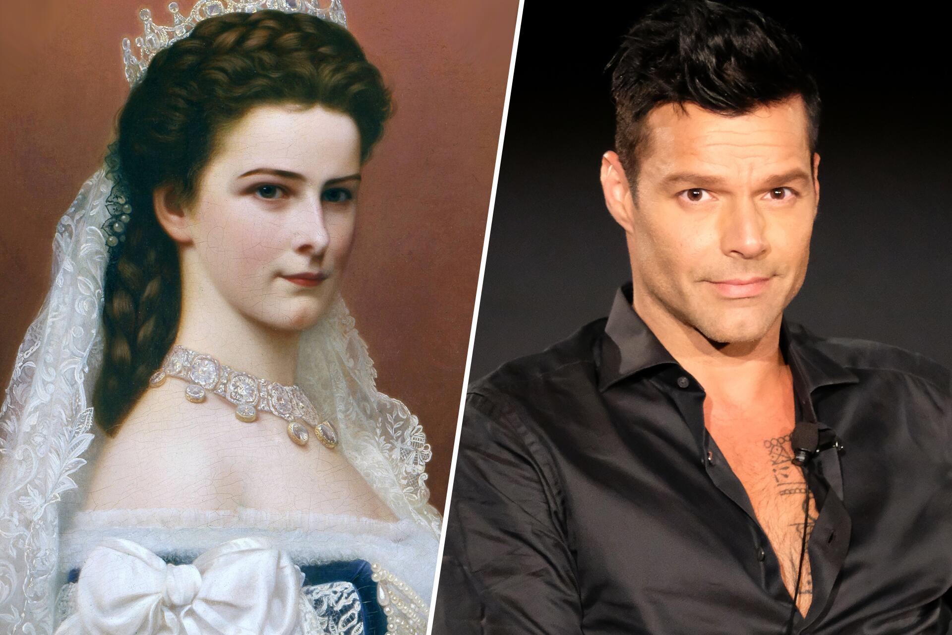Bild zu Kaiserin Sisi, Ricky Martin