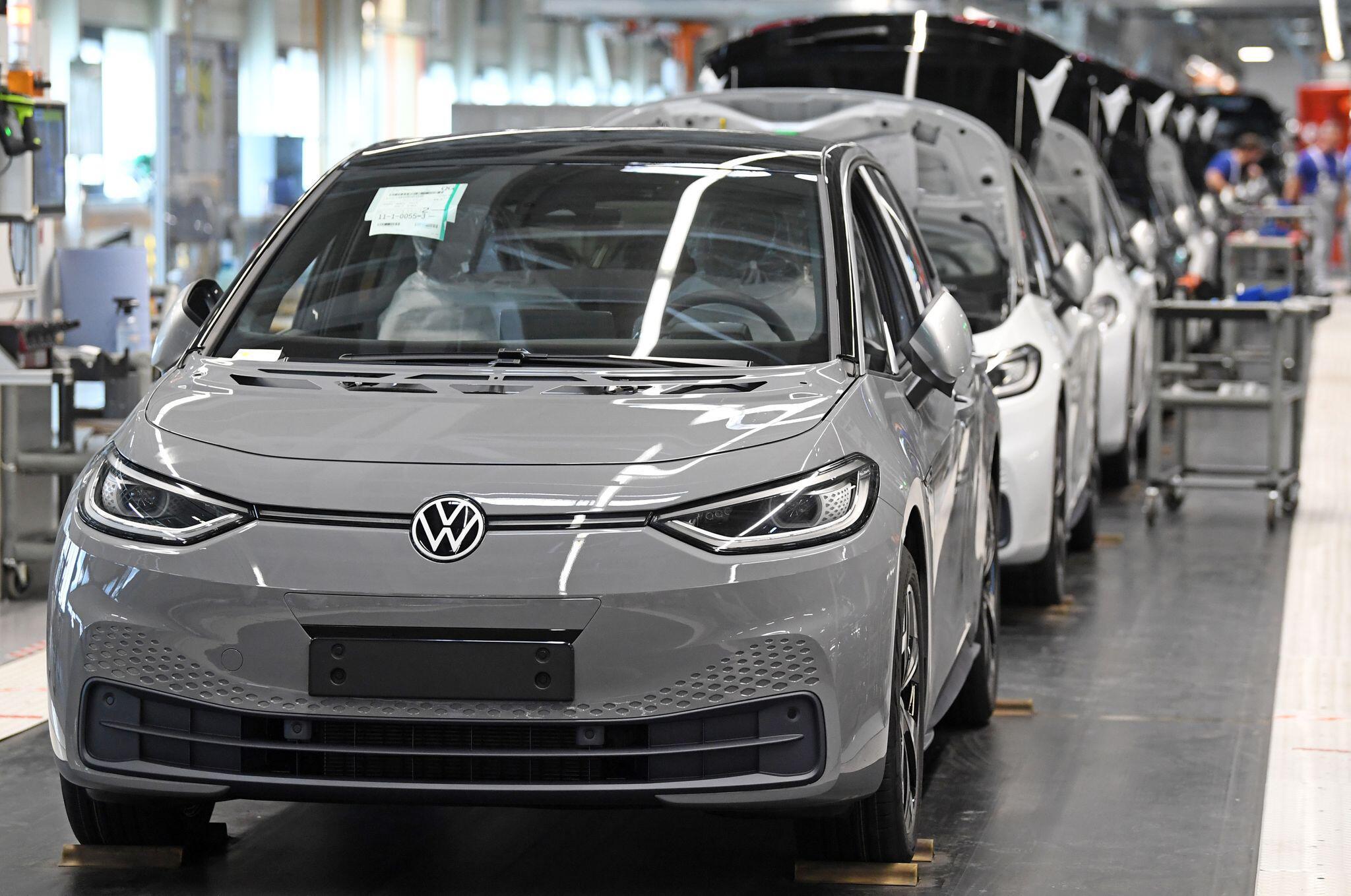Bild zu Volkswagen - Produktion von E-Autos
