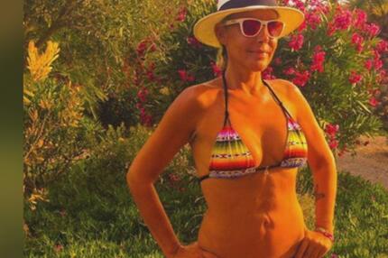 Sexy Strand-Selfies: Natascha Ochsenknecht kennt alle Tricks
