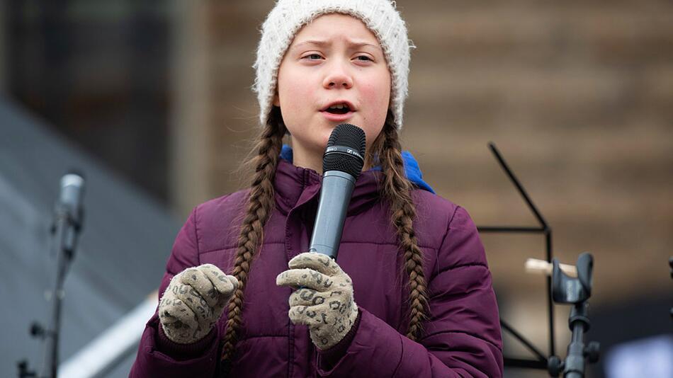 Greta Thunberg, Hamburg, Protest, Demonstration, Klimaschutz, Schülerin