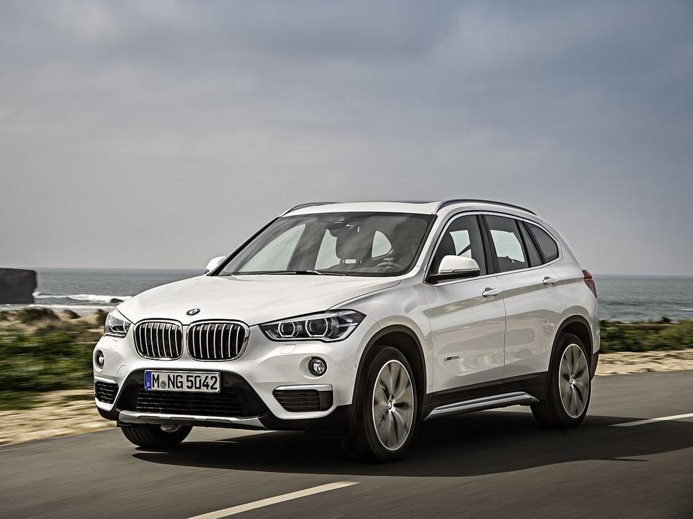 Bild zu Platz 2 SUV: BMW X1