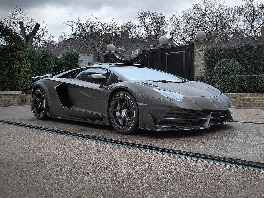 Bild zu Lamborghini Aventador von Mansory