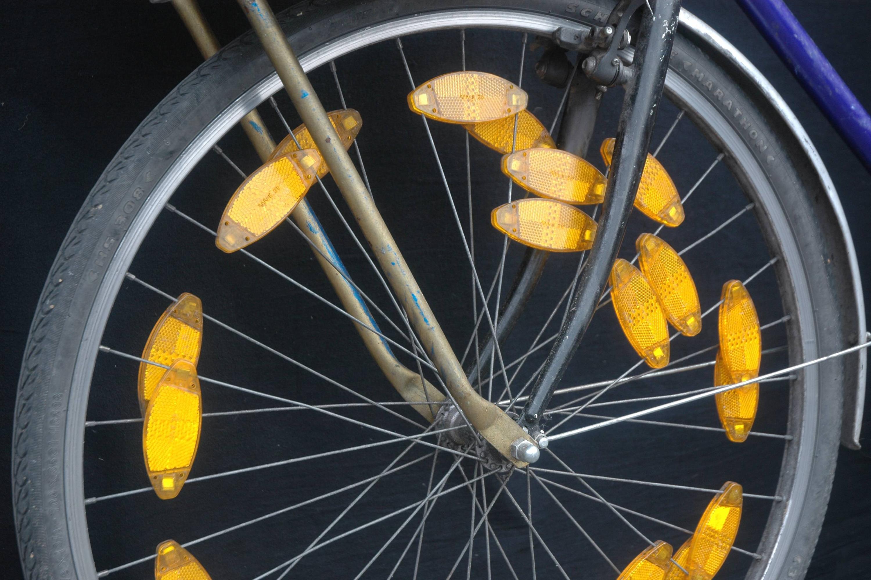 Bild zu Reflektoren, Fahrrad