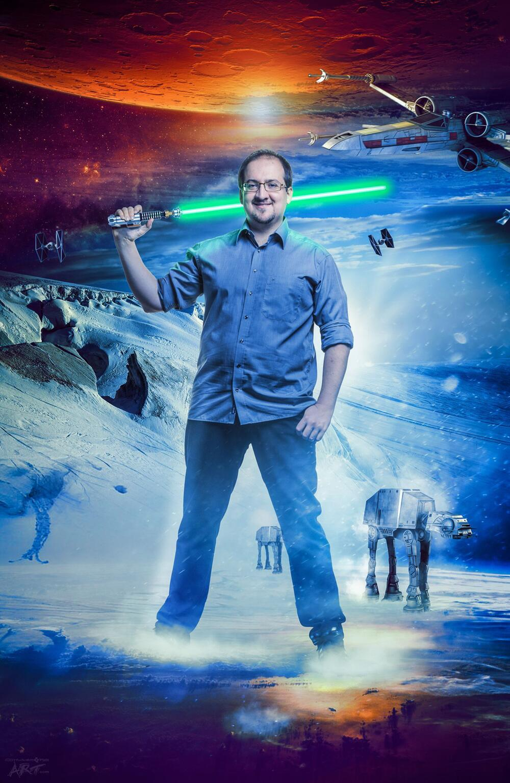 Star-Wars-Experte Sascha Vogel