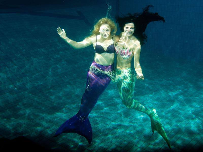 Bild zu Meerjungfrauen-Club