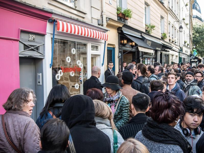 Bild zu Scarlett Johansson opens a popcorn shop in Paris