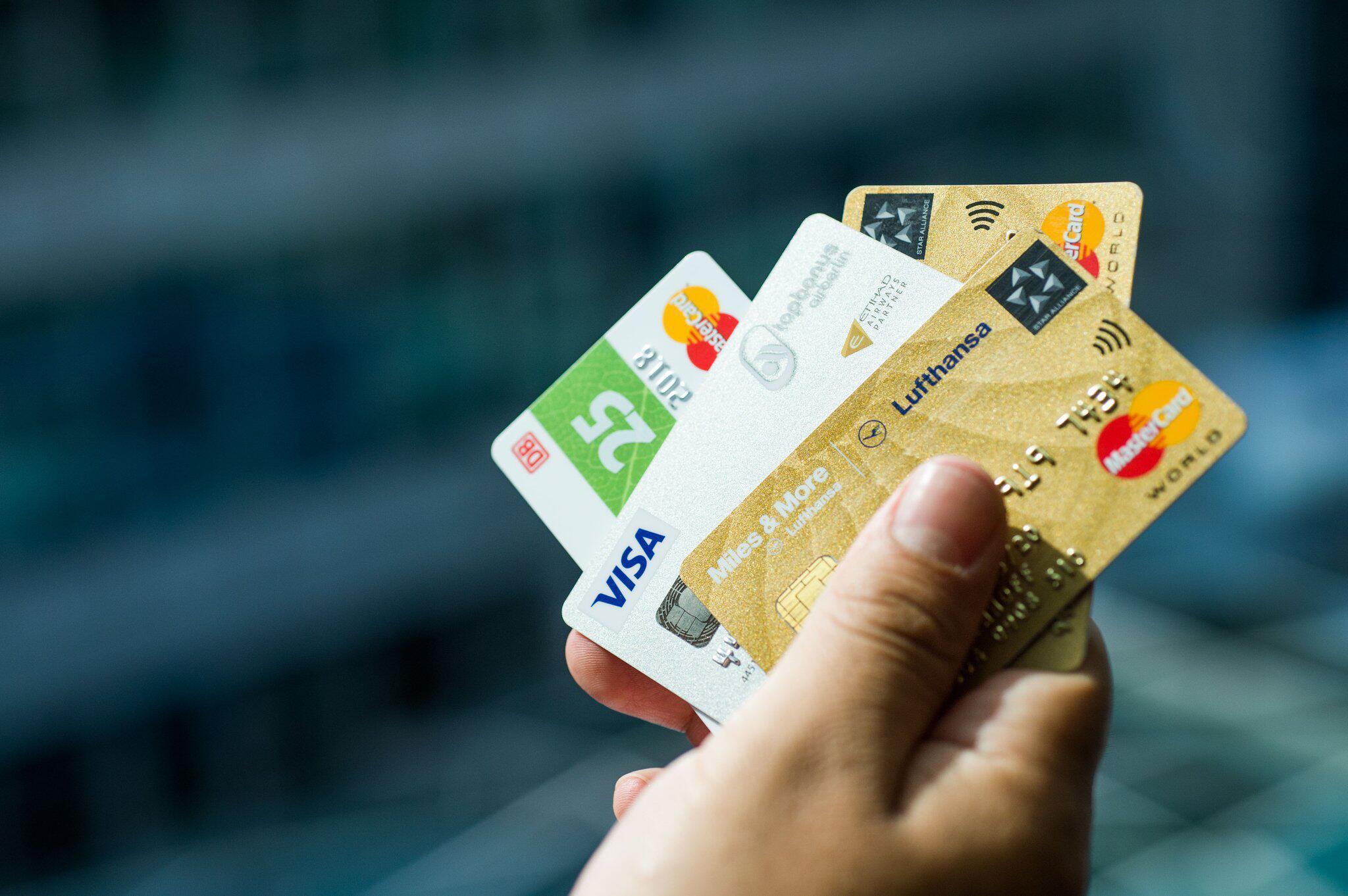 Bild zu Kreditkarten von Privatunternehmen