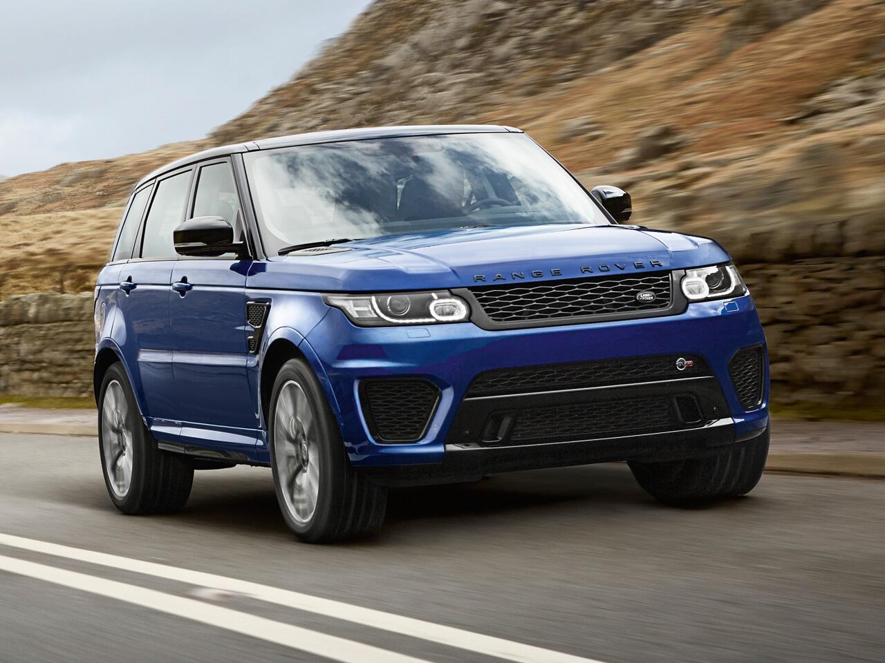 Bild zu Range Rover Sport, Gelände- und Sportwagen