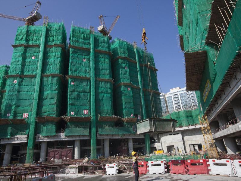 Bild zu Neubauten in Hongkong