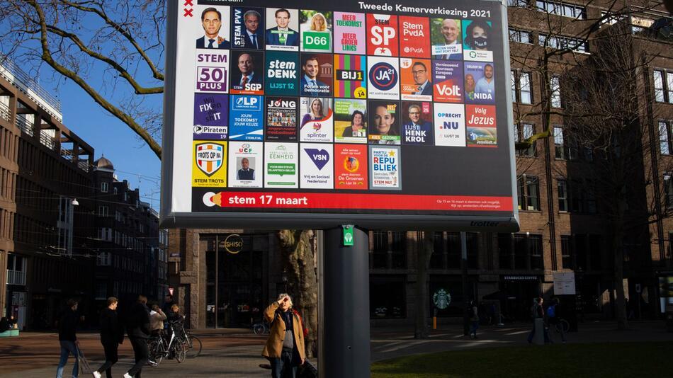 Vor der Parlamentswahl in den Niederlanden