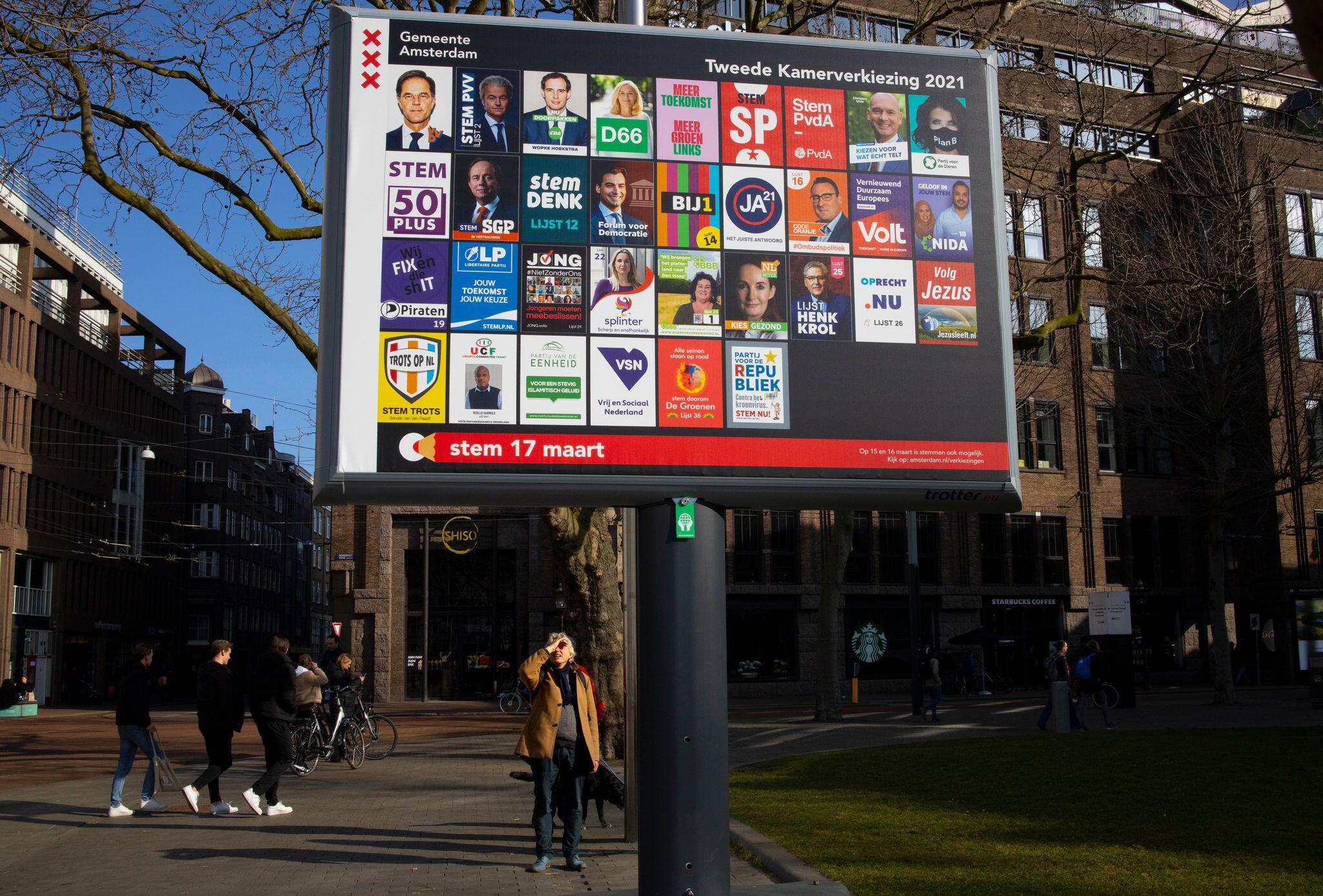 Bild zu Vor der Parlamentswahl in den Niederlanden